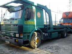 Scania - 93 M - 280 Porta coches