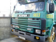 Scania - 93 M - 280 Porta coches